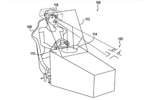 ホンダ、見えない位置にいる歩行者やクルマをヘッドアップ・ディスプレイに表示する技術の特許を出願