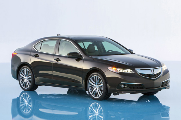 ACURA CELEBRATES COMING LAUNCH OF 2015 TLX PERFORMANCE LUXURY SEDAN ...