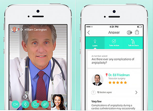 HealthTap launches a live medical advice service that uses your iOS device