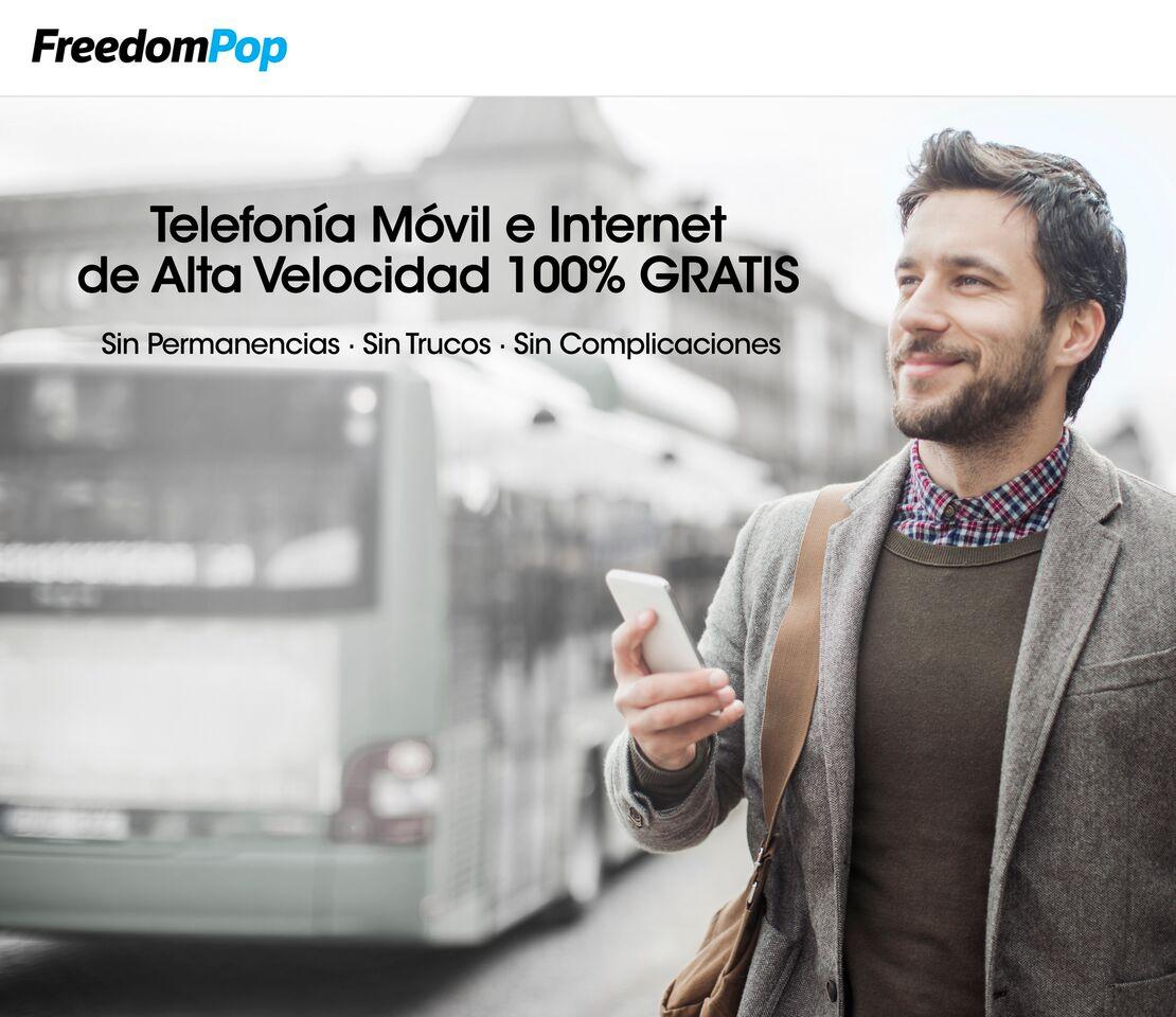 FreedomPop llega a España para regalar la conexión móvil y WhatsApp