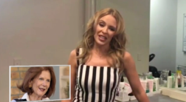 Kylie Minogue remembers her Neighbours roots