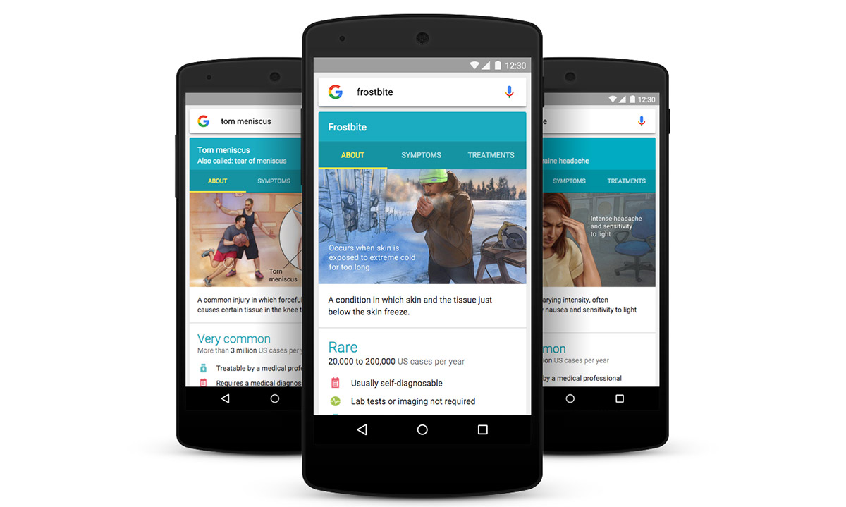 Google expands health conditions feature to include 900 illnesses