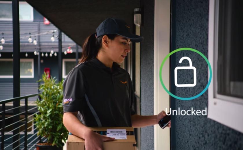 Amazon Key: Wenn sich die Wohnungstür für den Paketdienst selber öffnet