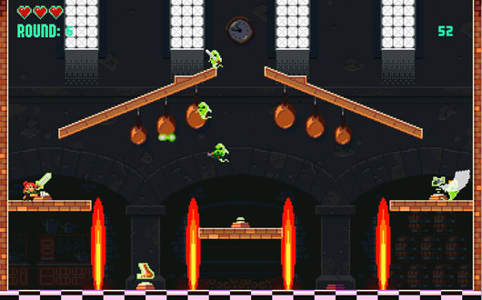 Extreme Exorcism is pixelated chaos for you and your ghostbusting friends