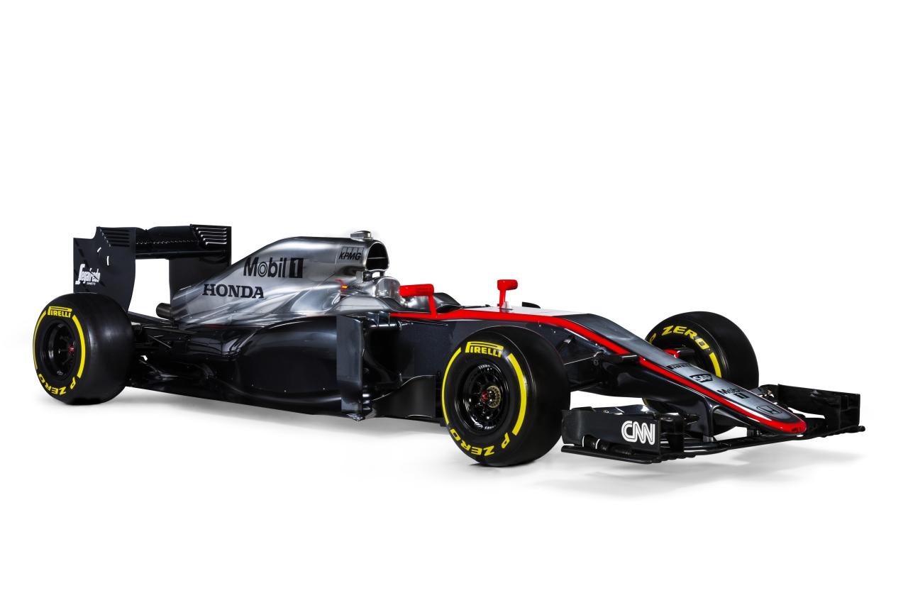Formel-1: Honda zeigt McLaren-Honda MP4-30