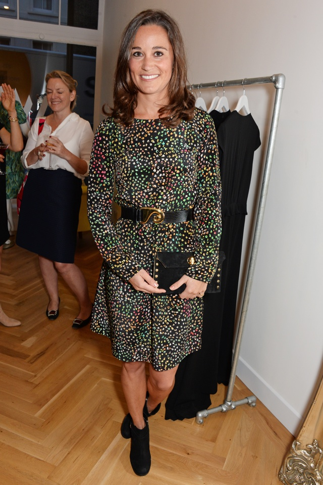 Pippa Middleton is pretty at Tabitha Webb's London store opening