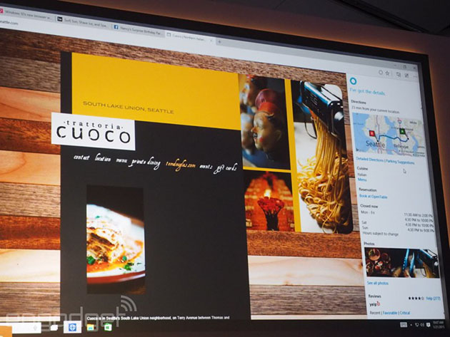 Microsoft's new browser previewed in video