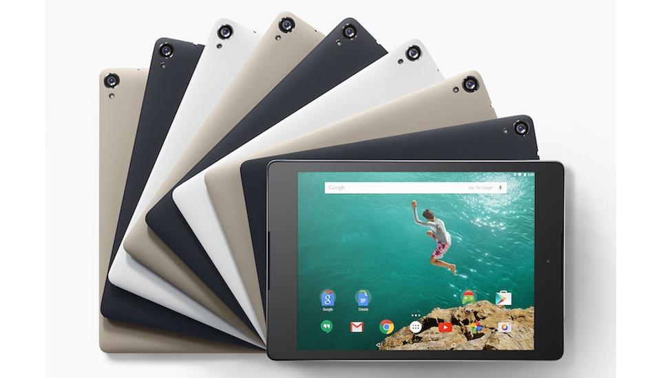 Google Nexus 9, el primer tablet con Android 5.0 Lollipop