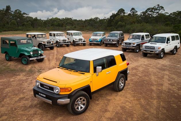 トヨタ、「FJクルーザー」の生産を今年8月で終了