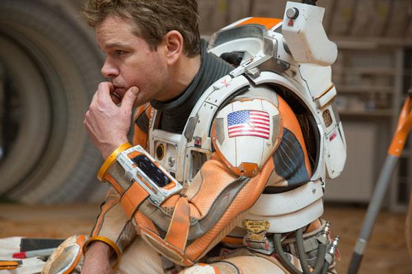 アカデミー賞最有力映画『オデッセイ』マット・デイモンの貴重インタビューが公開 「観客には僕と一緒に火星に取り残されてほしい」【動画】