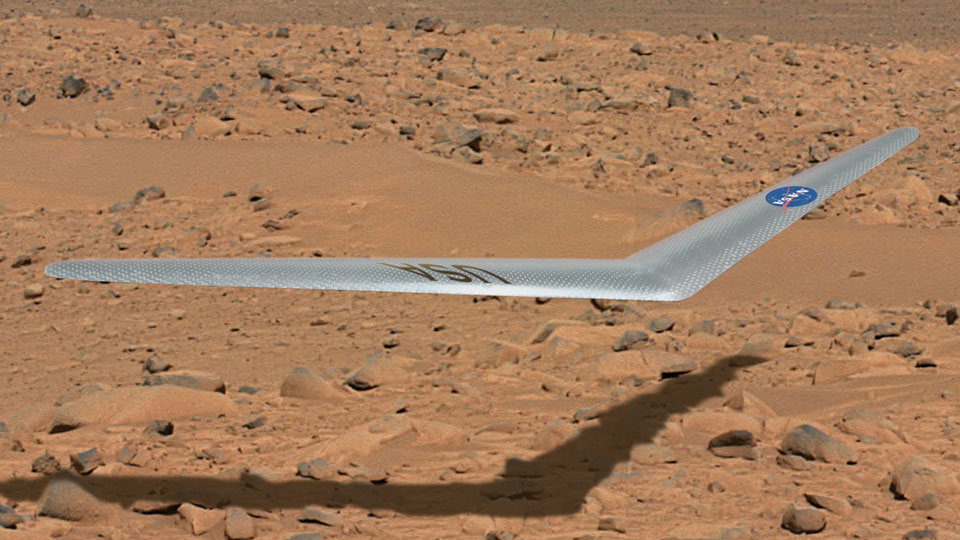 NASA prototypes a drone aircraft destined for Mars
