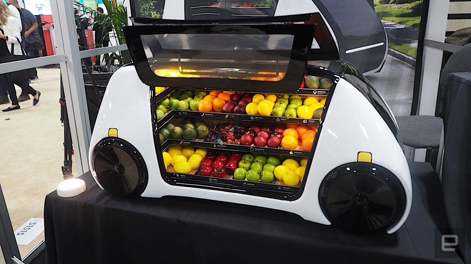 Robomart: Im Sommer kommt der autonome Gemüsehändler auf die Straßen