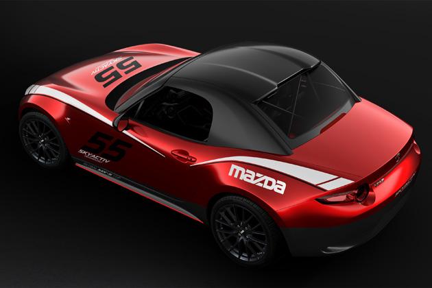 北米マツダ、「グローバル MX-5 カップ」仕様車のために専用ハードトップを発売