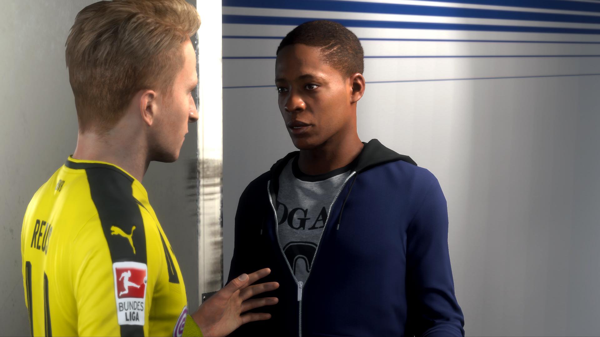 Alex Hunter busca nuevo equipo en FIFA 18