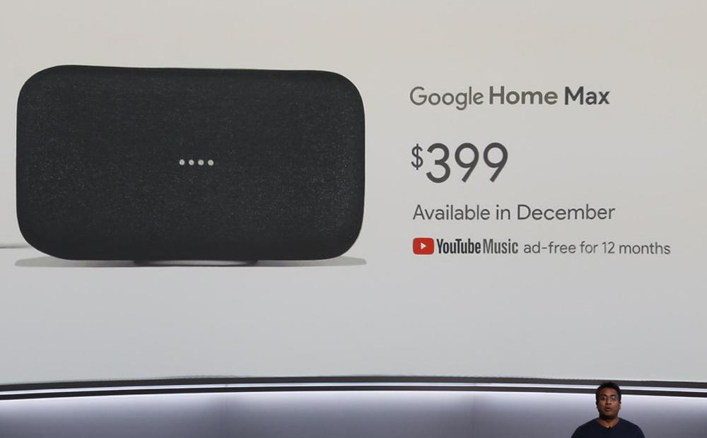 速報:Google Home Max発表。AI空間認識で自動チューニングする大出力スマートスピーカー