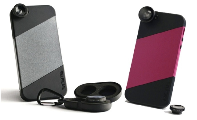 Selfieme iPhone Accessory case and lenses