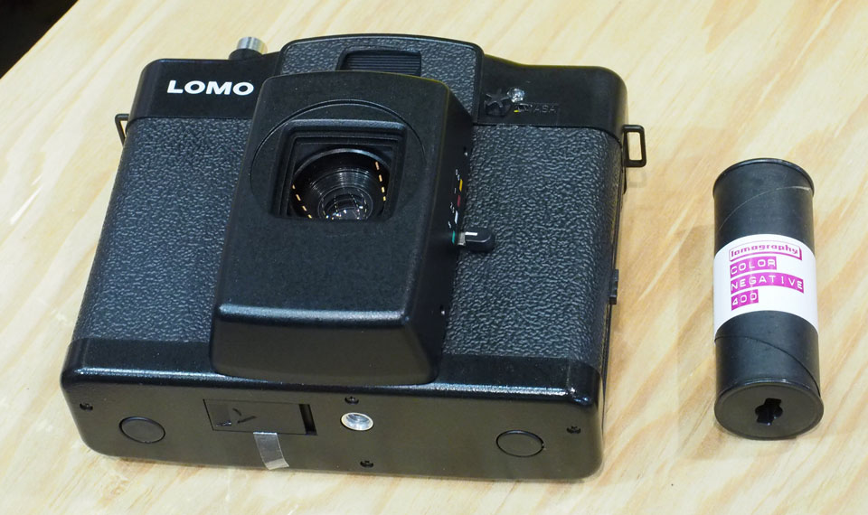 Lomo's latest camera is expensive, impractical and uses 120mm film