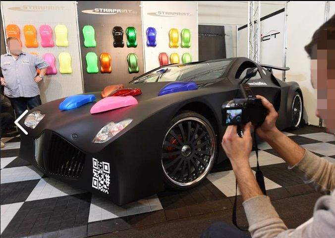Schnellster Sportwagen der Welt: Weber F1 - 1200 PS & 435 km/h