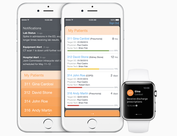 Apple Watch support is coming to IBM's enterprise apps