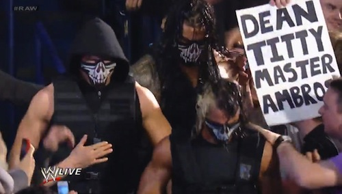 wrestling fan signs, best wrestling signs, funny wrestling signs