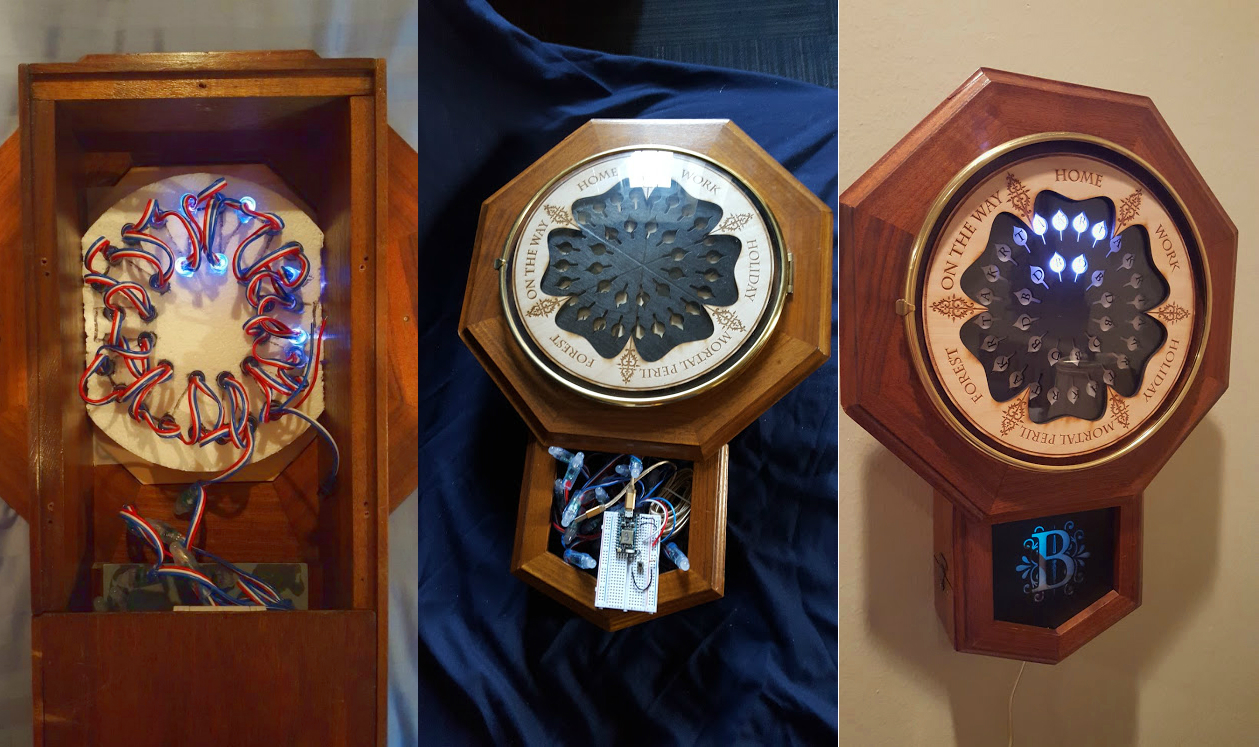 The magical 'Harry Potter' location clock exists in DIY form