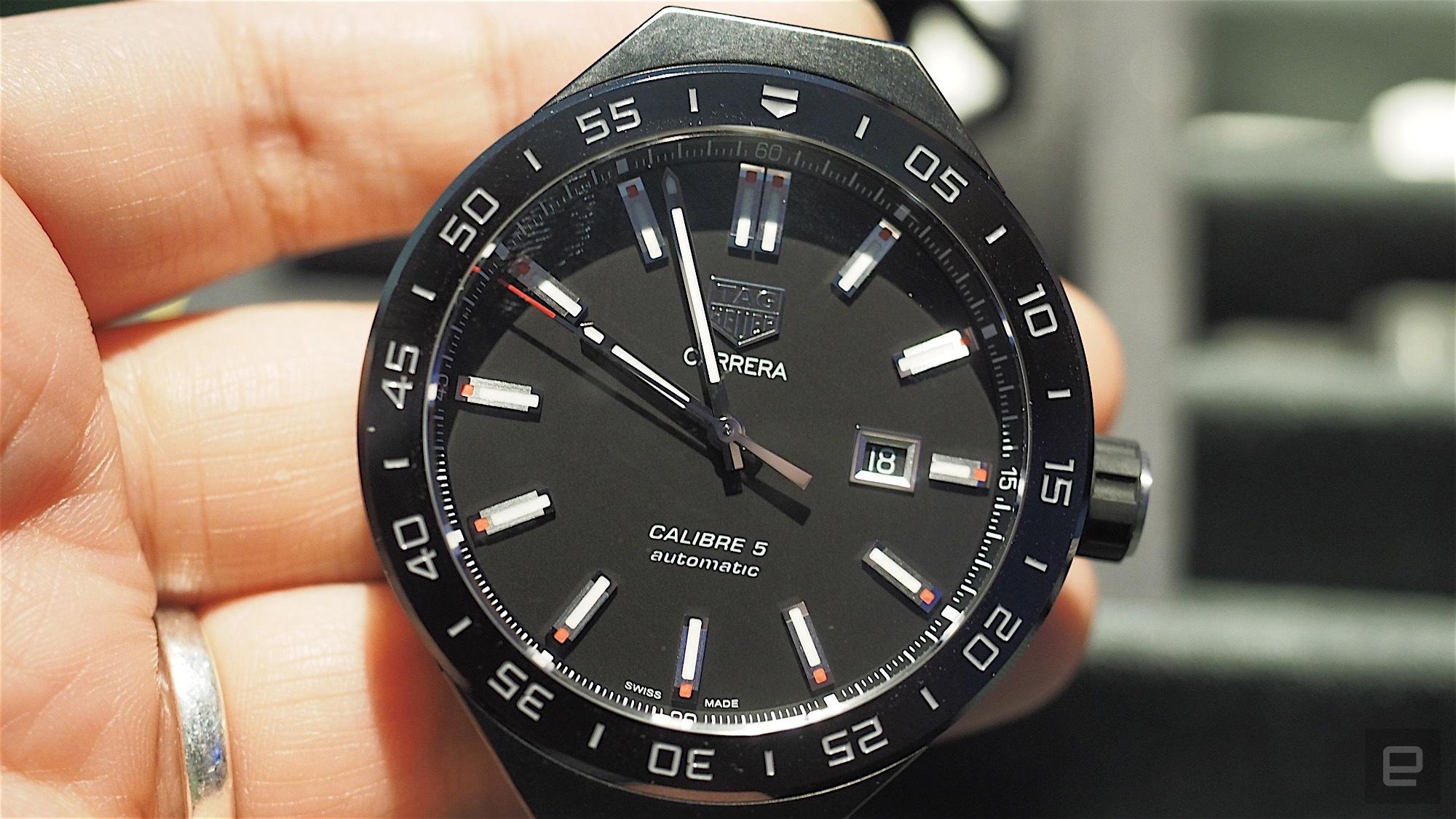 Este es Connected Modular 45, el reloj modular y androide de Tag Heuer