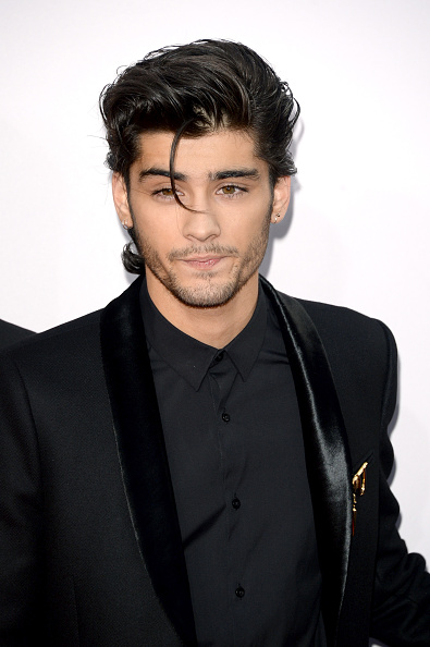 LOS ANGELES, CA - NOVEMBER 23:  Singer Zayn Malik of One Direction attends the 2014 American Music Awards at Nokia Theatre L.A. Live on November 23, 2014 in Los Angeles, California.  (Photo by Jason Merritt/Getty Images)