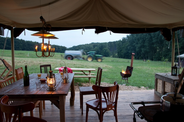 Virgin Experience Days glamping