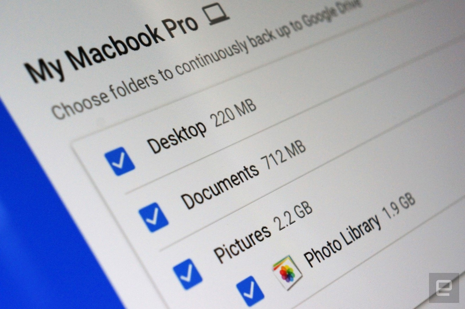 Adiós, Google Drive. Hola, Backup and Sync
