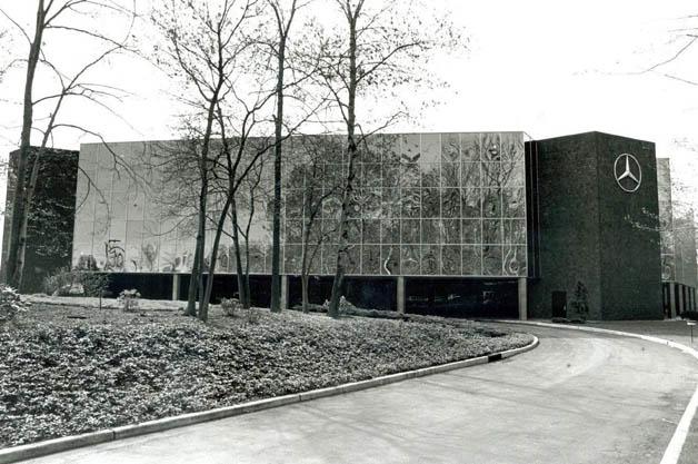 MBUSA HQ in Montvale, NJ