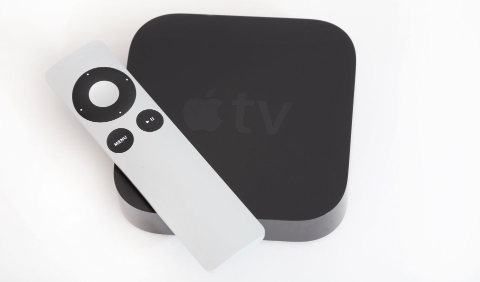 The current Apple TV