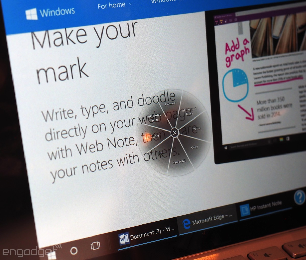 HP wants you to use its new 8-inch Windows tablet to get work done