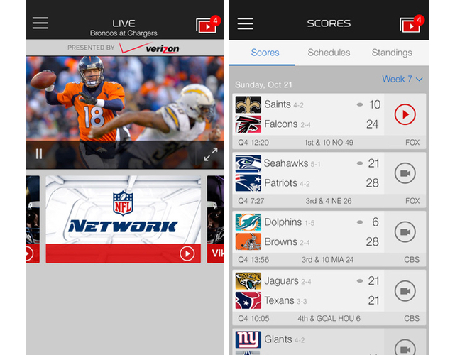 Nfl mobile updated for 2014 season with new fantasy football the nfl today updated its nfl mobile app for the upcoming 2014 2015 football season the app allows you to watch live games receive up to the minute nfl publicscrutiny Gallery