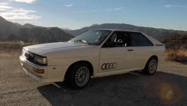 Petrolicious: Audi Quattro