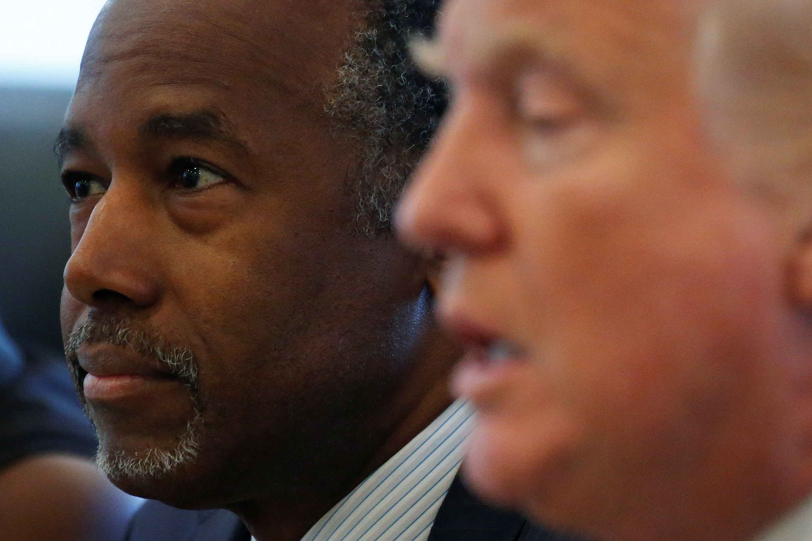 Ben Carson breaks with Trump on refusal to accept outcome of the election