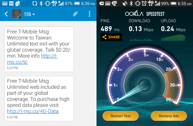 Exploring Asia with T-Mobile's free global roaming