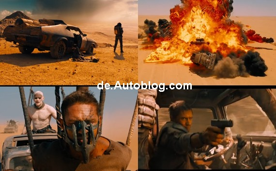 Max Rockatansky, Mad Max, Tom Hardy,  Mad Max 4, Mad Max IV, Video, Trailer, Fury Road, Mel Gibson, der Vollstrecker, Interceptor, Teaser, Video Teaser