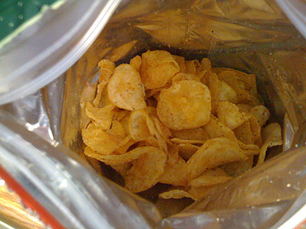 Important: Why The Hell Are Bags Of Chips Always Half Empty?
