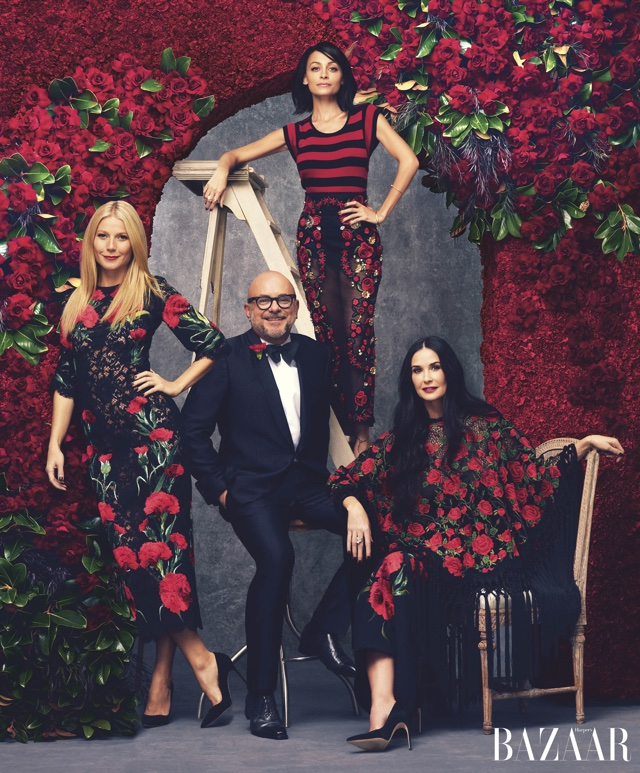 Gwyneth Paltrow, Demi Moore and Nicole Richie team up for Harper's Bazaar