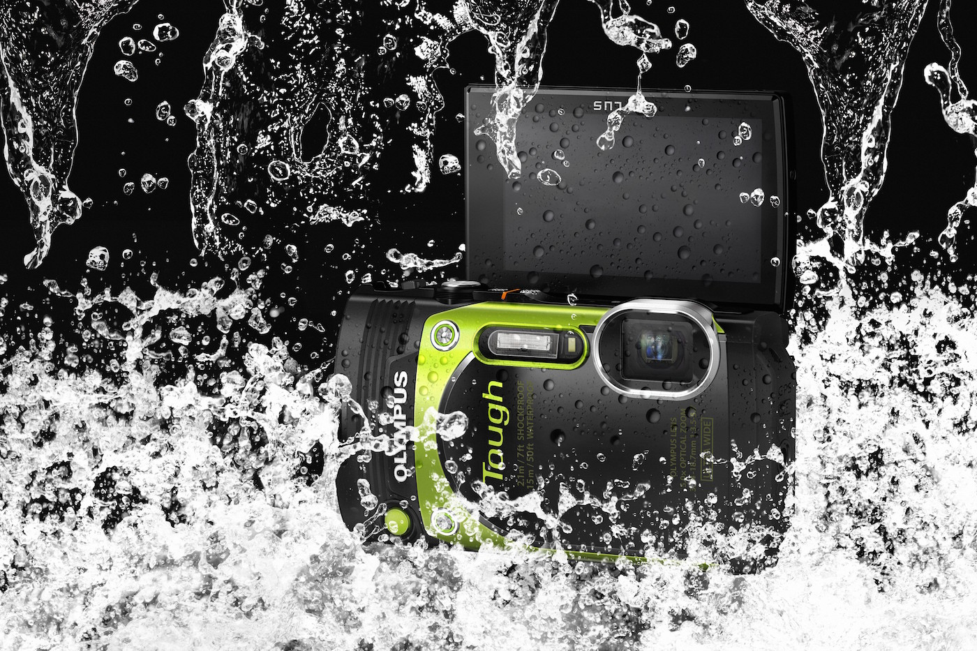 Olympus outs the Stylus TG-870, a ruggedized compact camera