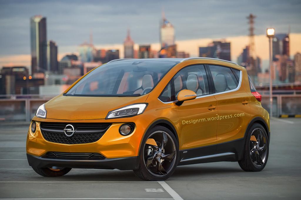 Vorschau: Opel Elektroauto Trixx