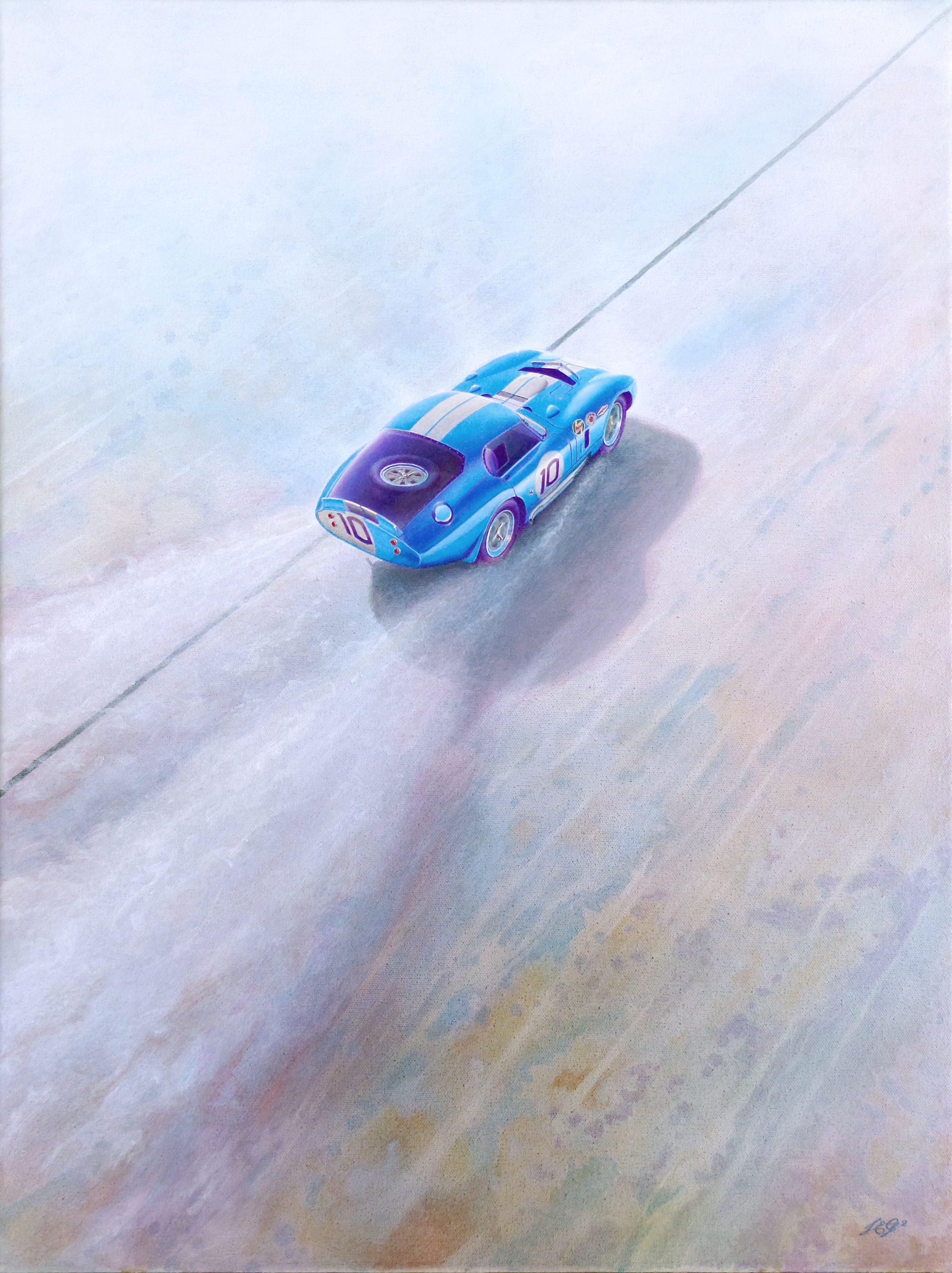 Shelby Daytona Painting