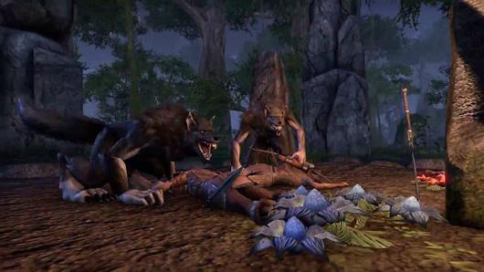 Elder Scrolls Online werewolf