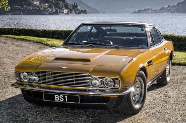 1970 Aston Martin DBS at Lake Como