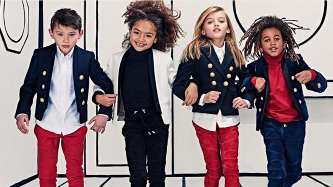 Balmain new kids' collection