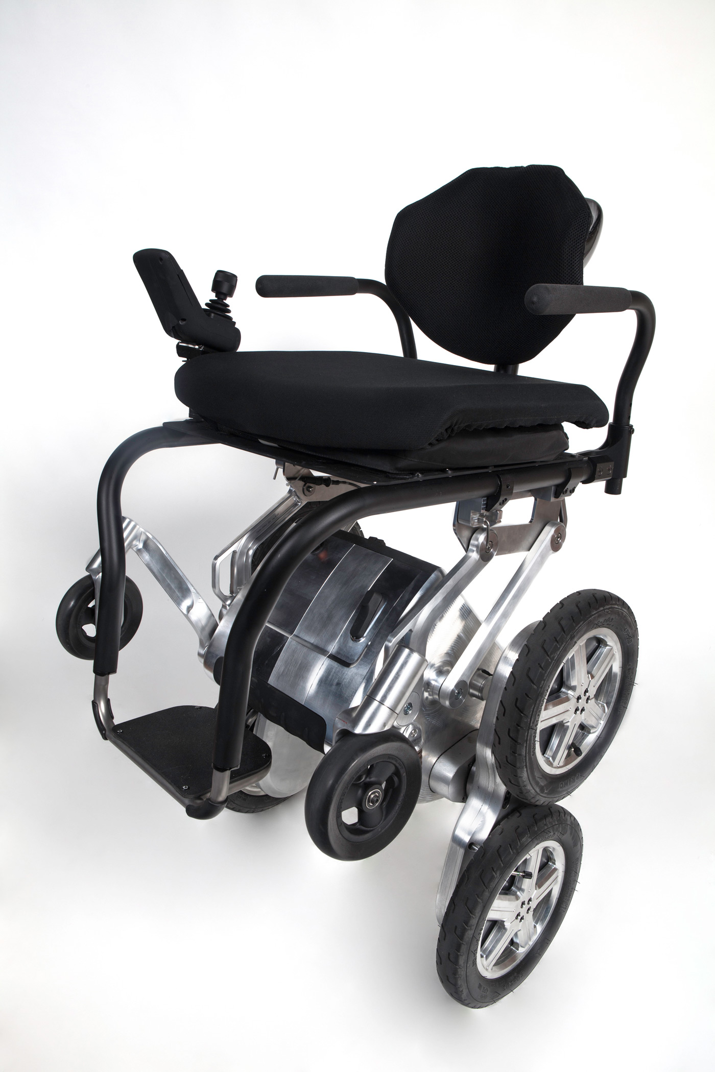 Next-generation iBot wheelchair prototype