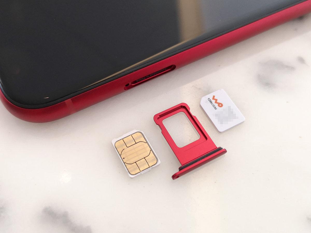 サイズ iphone sim カード