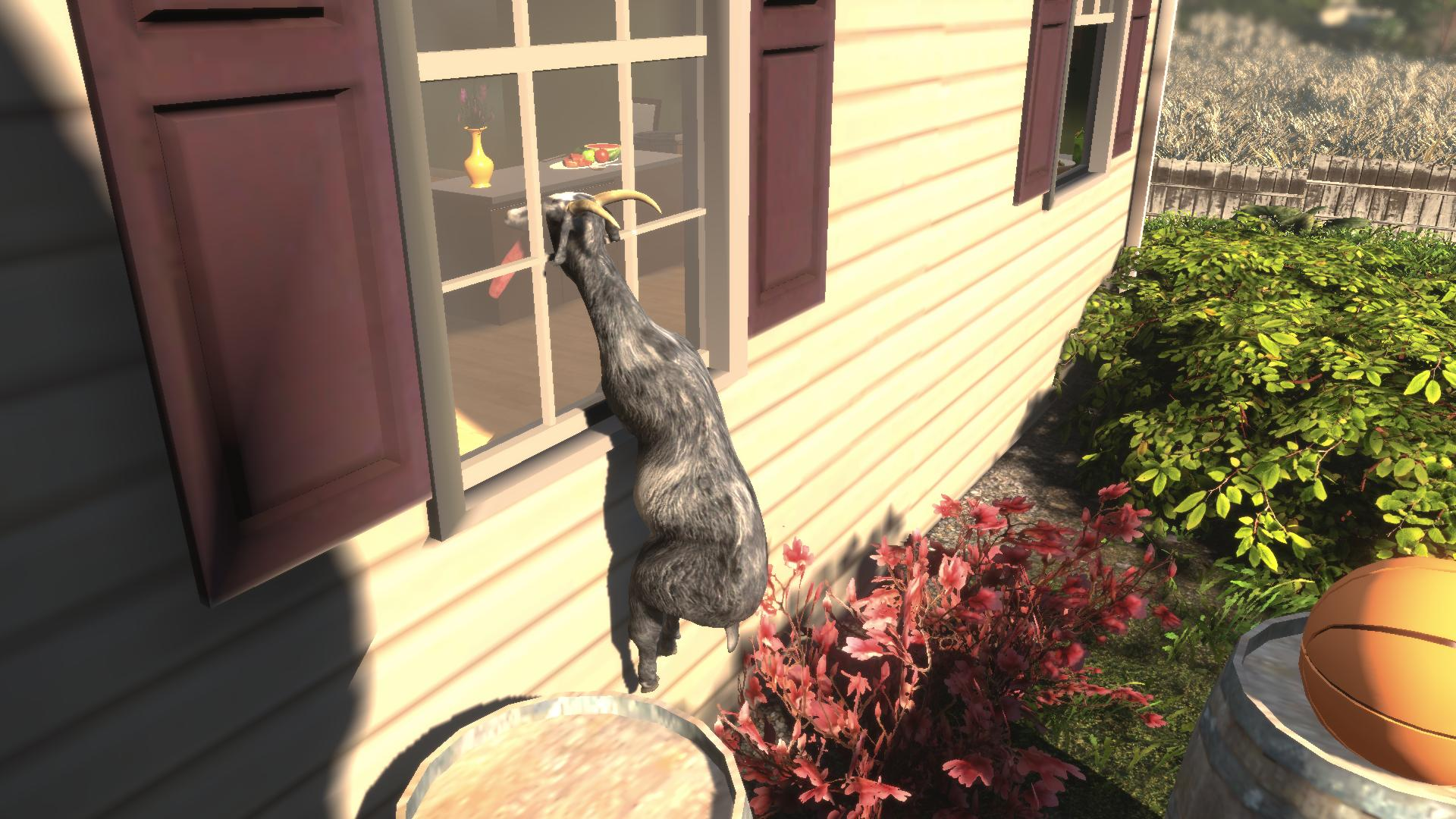 Goat MMO Simulator gets a grand tour in this goat-tastic video