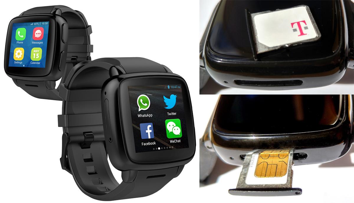 Neue Smartwatch von Omate mit Android Lollipop und microSIM