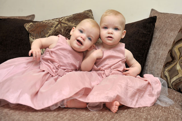 Miracle twin babies Lily and Darcy Ellis set to star in Casualty